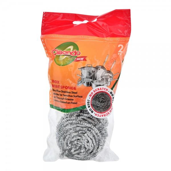 Cleando Inox Wire Sponge - 2Pc 481032-V001 by Cleando