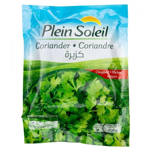 Plein Soleil Chopped Coriander Frozen 200G 481705-V001 by Plein Soleil