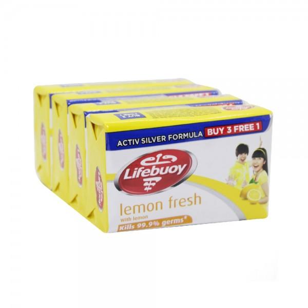 3xBAR SOAP LEMON FRESH+1 FREE 481971-V003 by Lifebuoy