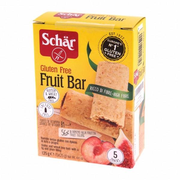 Schar Gluten Free Fruit Bar 125G 482477-V001 by Schar