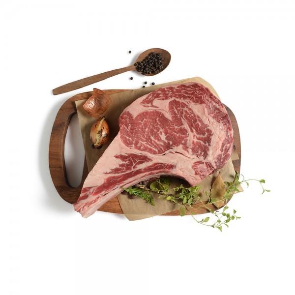 U.S Prime Angus Ribeye Bone In per Kg 483517-V001 by Spinneys Butcher Shop