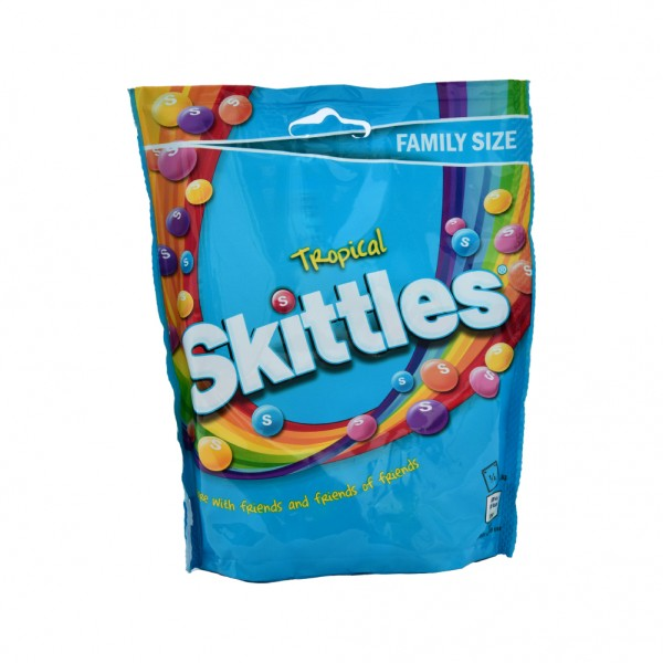 Skittles Tropical Pouch - 196G 483894-V001 by Mars