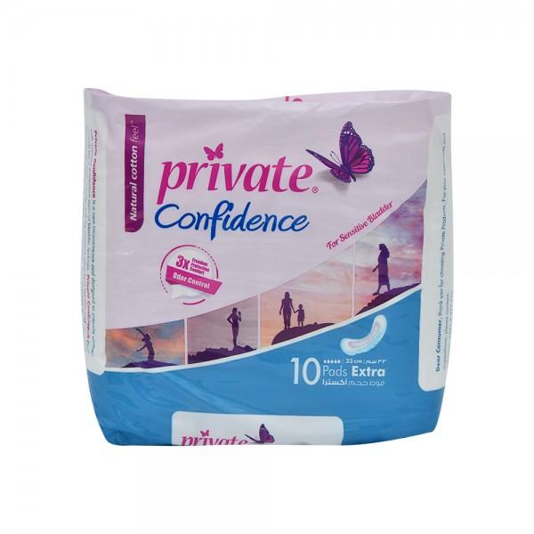 Private Confidence Extra - 10Pc 484107-V001 by Sanita