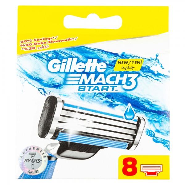 Gillette Mach3 Start Blades 8 484111-V001 by Gillette
