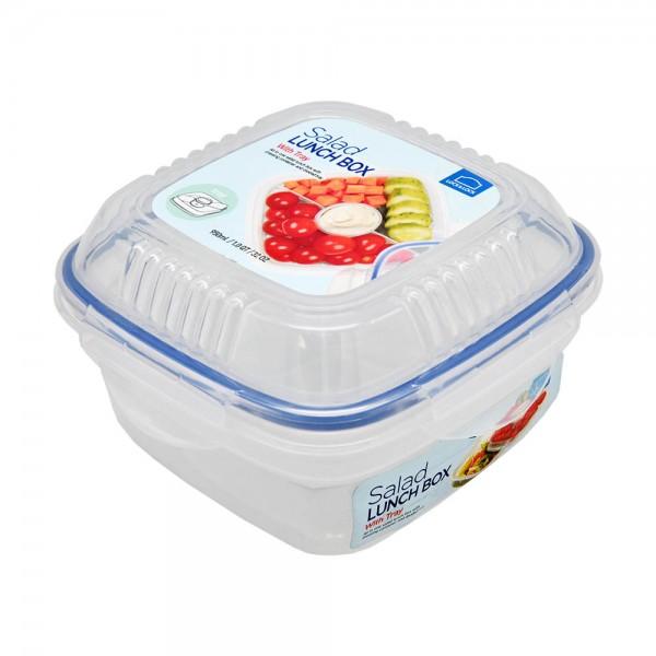 Lock+Lock Salad Container Tray+Sauce - 950Ml 484454-V001