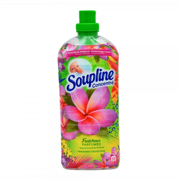 Soupline Concentrated Fabric Softener Paradise Pink 1.2L 484572-V001 by Soupline