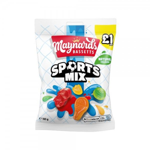 Maynards Bassets Sports Mix 165g 484805-V001 by Maynards