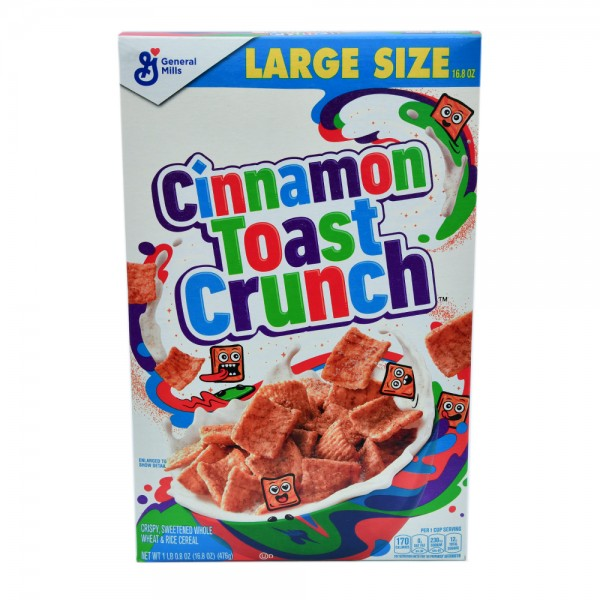 TOAST CRUNCH CEREAL 485330-V001 by General Mills