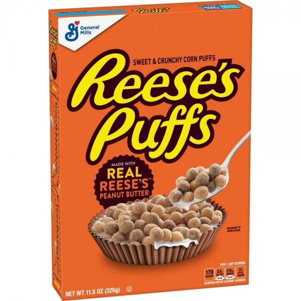 REESES PUFFS CEREAL 485332-V001 by General Mills