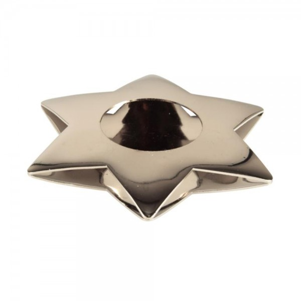 Pap Star Candle Holder Gold Star - 11Cm 485834-V001 by Pap Star