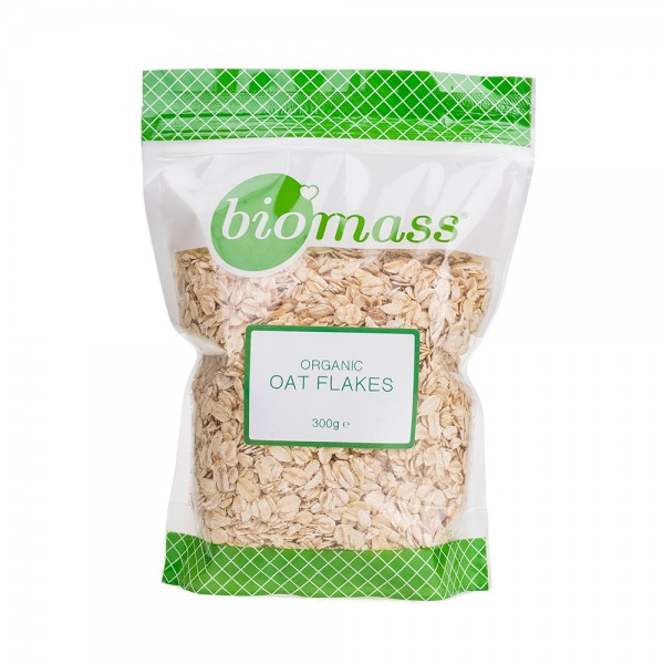 Biomass Organic Oat Flakes 300G 486665-V001 by Biomass