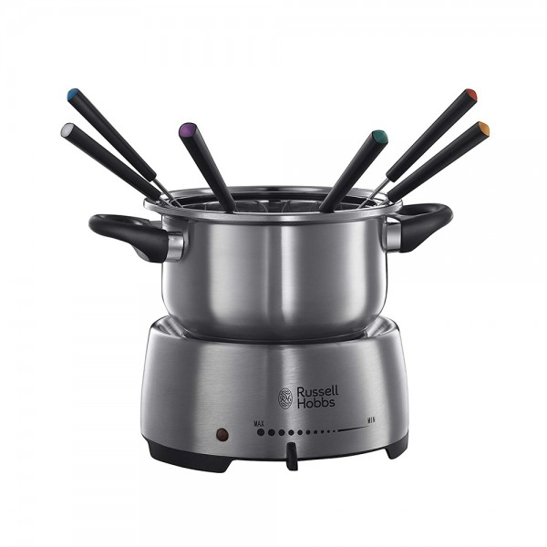 Russel Hob Fondue S Steel 6 Forks, 1200W 487428-V001 by Russell Hobbs