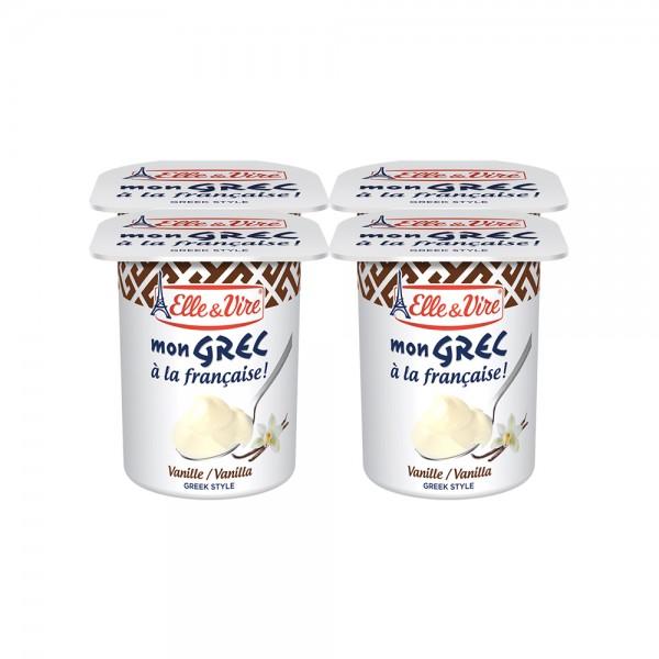 Elle & Vire Dessert Lacte Mon Grec Vanille 125G 487882-V001 by Elle & Vire