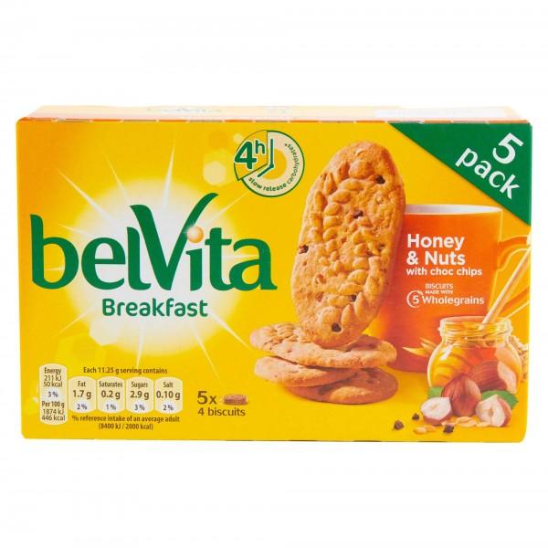 Belvita Honey Nut 225G 488105-V001 by LU
