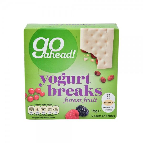 Go Ahead Yogurt Breaks Forest Fruit 35.5G 488113-V001 by McVitie's