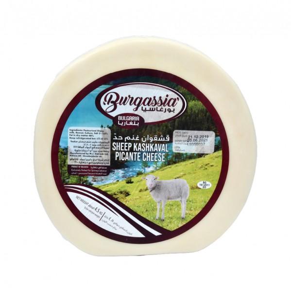 Burgassia Kashkaval Sheep Cheese Picante per Kg 488211-V001 by Burgassia