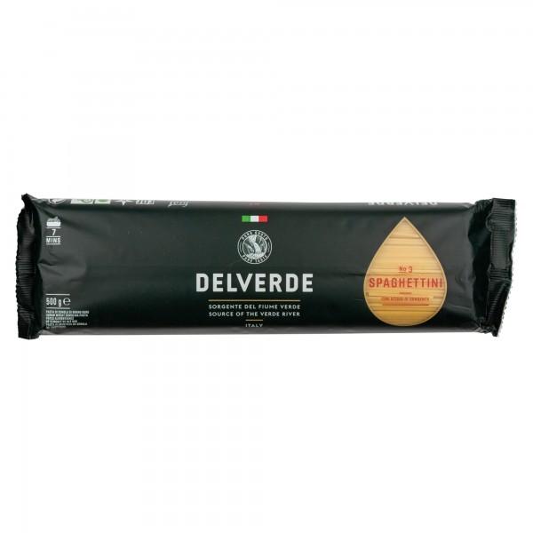 Delverde Spaghettini In Bronzo 500G 488562-V001 by Delverde