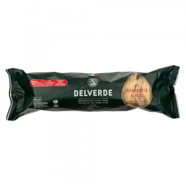 Delverde Spaghetti A Nido No.9 250G 488578-V001 by Delverde