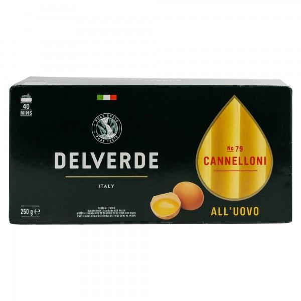 Delverde Cannelloni All'Uovo No.79 250G 488584-V001 by Delverde