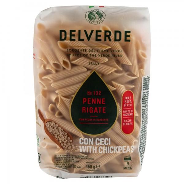 Delverde Fusilli Con Ceci 450G 488587-V001 by Delverde