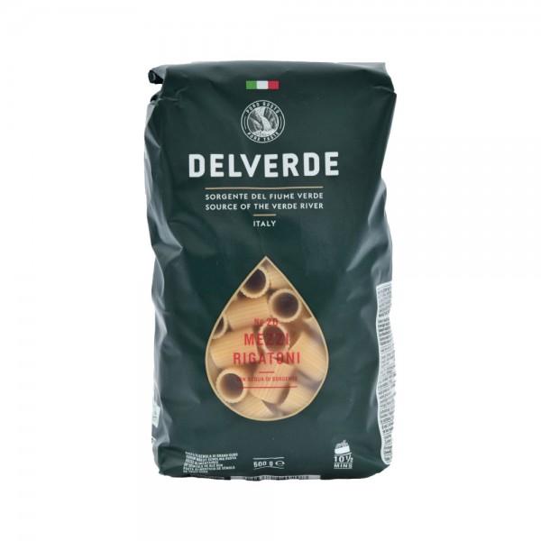 Delverde Mezzi Rigatoni Bronzo  - 500G 488591-V001 by Delverde