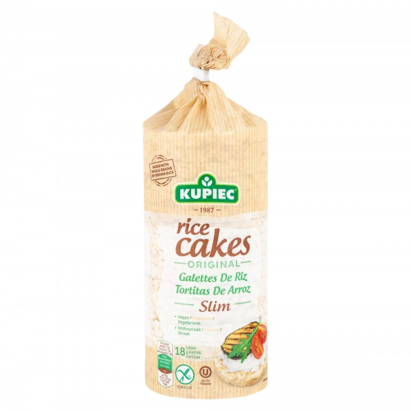 Kupiec Gluten Free Rice Cakes Original Slim 90G 488958-V001 by Kupiec