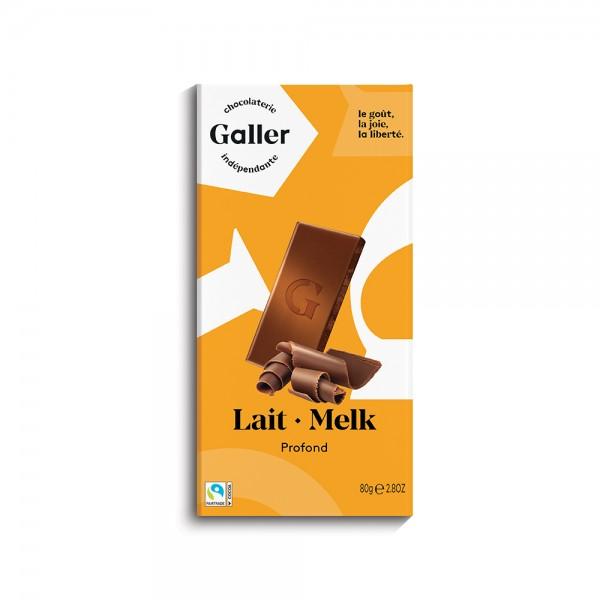 Galler Choc Tablet Lait Profond 489037-V001 by Galler Chocolatier