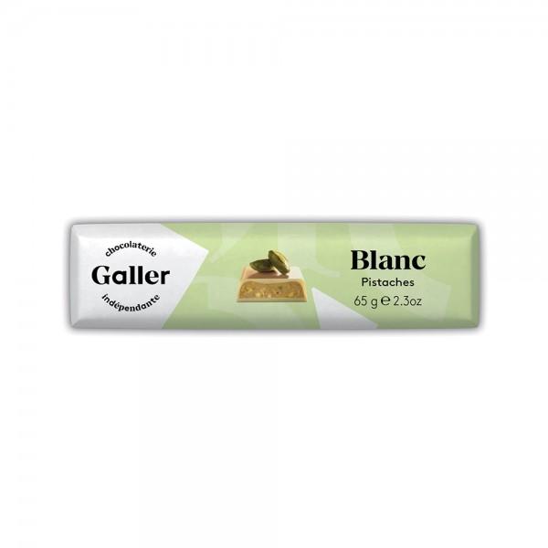 Galler Choc Stick Blanc Pistache - 70G 489045-V001 by Galler Chocolatier