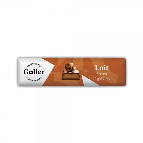 Galler Choc Stick Lait Praline - 70G 489046-V001 by Galler Chocolatier