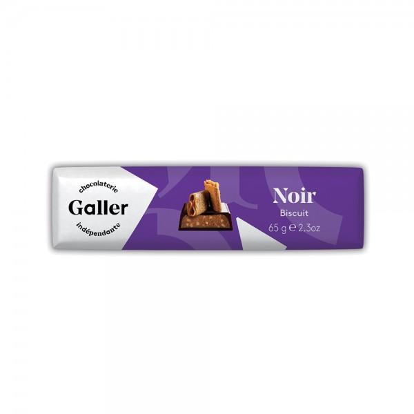 Galler Choc Stick Noir Biscuit - 70G 489050-V001 by Galler Chocolatier
