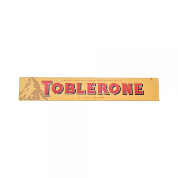 Toblerone Milk Chocolate - 100G 489201-V001 by Toblerone
