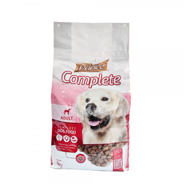 Prince Complete Adult Dry Dog Food 4Kg 489262-V001 by Prince