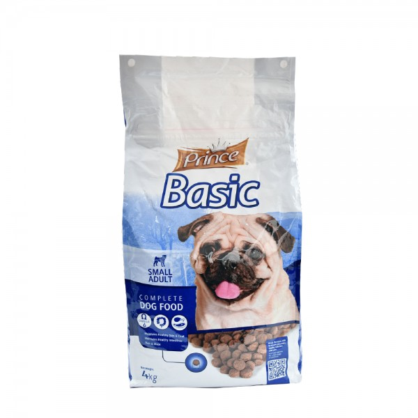 Prince Basic Small Adult Complete Dog Food 4Kg 489263-V001 by Prince