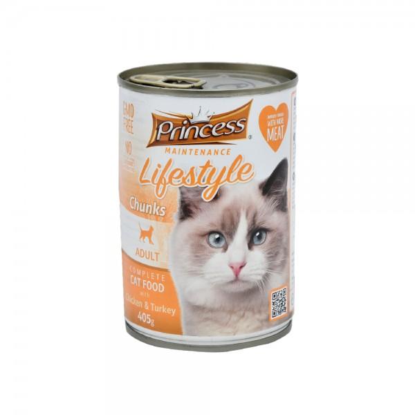 Princess Cat Canned Food Chicken+Turkey 489273-V001 by Princess