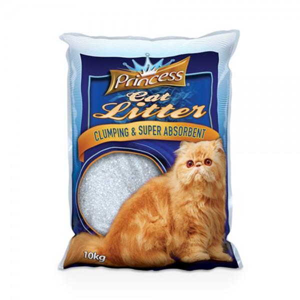 Princess Cat Litter Bentonite - 10Kg 489278-V001 by Princess