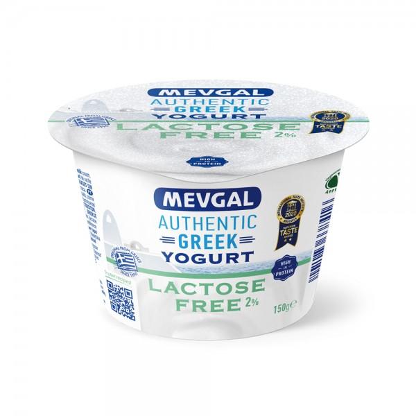 Mevgal Authentic Greek Lactose Free Yogurt 2% 150G 489559-V001 by Mevgal