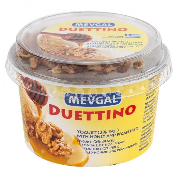 Mevgal Duet Greek Yogurt 2% Honey & Nuts 160G 489561-V001 by Mevgal