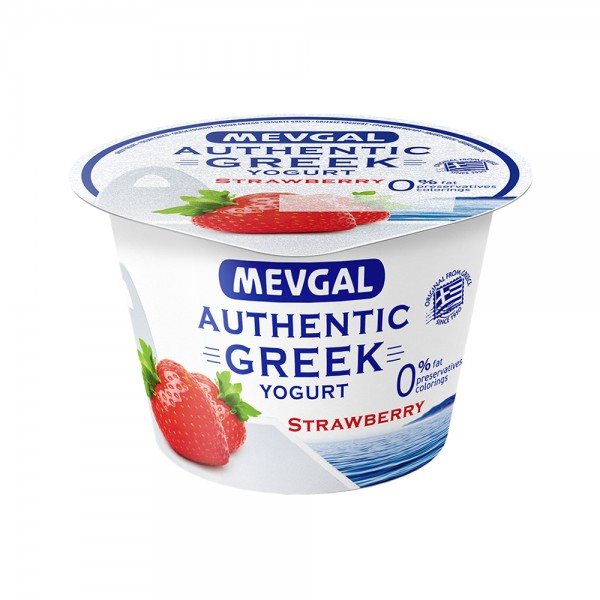 Mevgal Green Yogurt 0% Fat Strawberry 489576-V001 by Mevgal