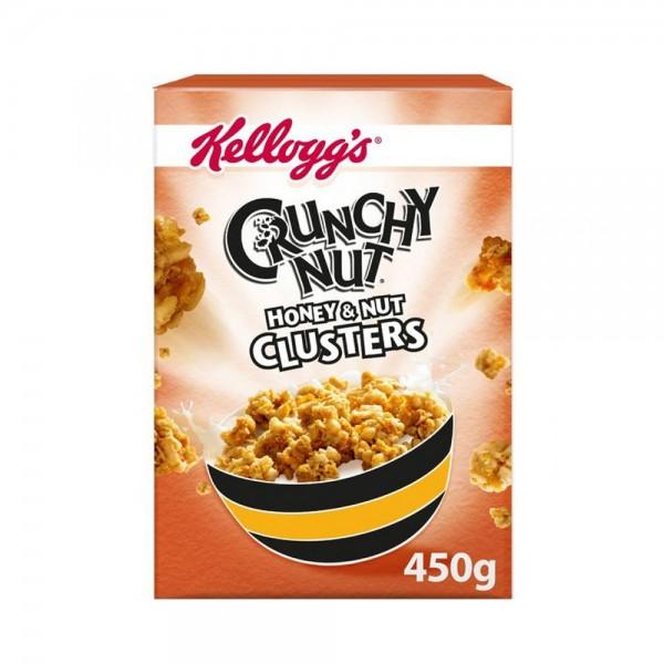 CRUNCHY NUT CLUSTER HONEY 489621-V001 by Kellogg's
