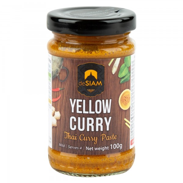 DeSiam Yellow Curry Paste 100G 489770-V001 by deSiam