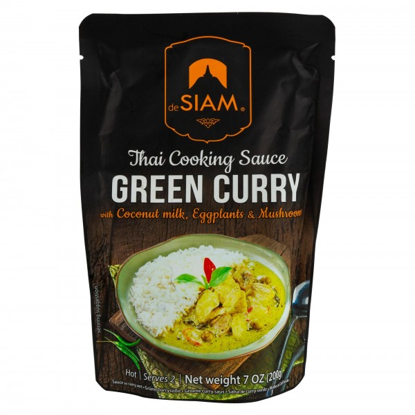 DeSiam Green Curry Sauce 200G 489813-V001 by deSiam
