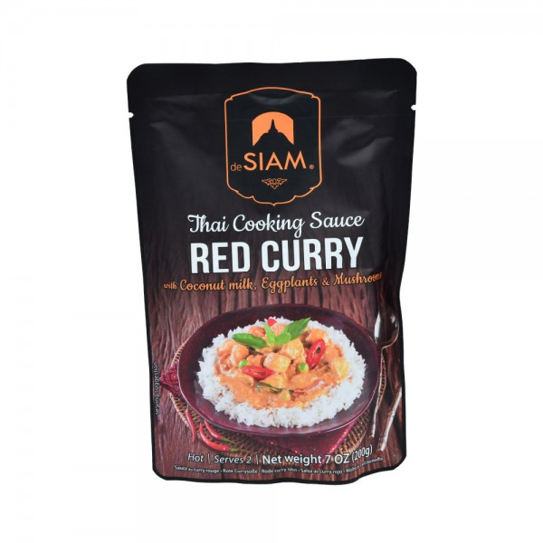 Desiam Red Curry Sauce - 200G 489814-V001 by deSiam