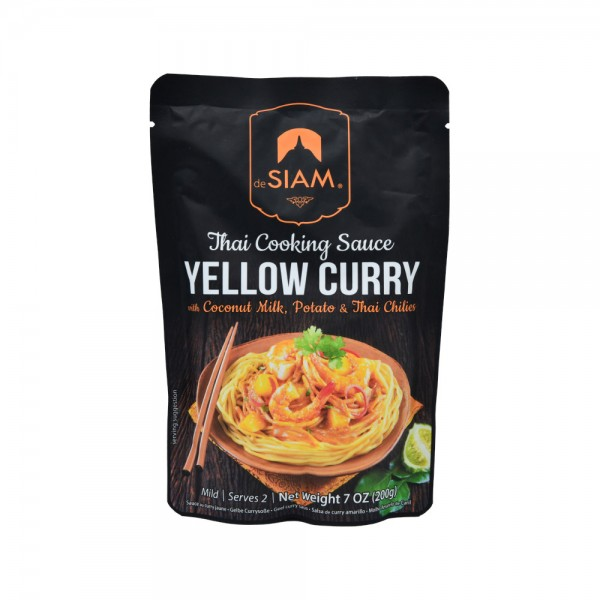 Desiam Yellow Curry Sauce - 200G 489815-V001 by deSiam