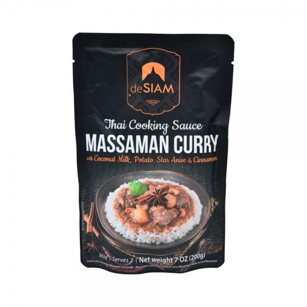 Desiam Massaman Curry Sauce - 200G 489816-V001 by deSiam