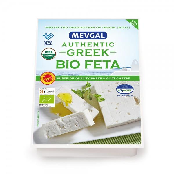 Mevgal Bio Feta Cheese 200g 489874-V001 by Mevgal