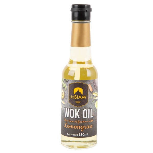 DeSiam Rice Bran Oil Flavored With Lemongrass 150Ml 489876-V001 by deSiam