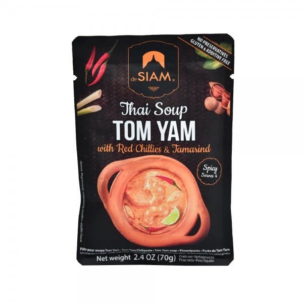 DeSiam Tom Yam Soup Paste 70G 489883-V001 by deSiam