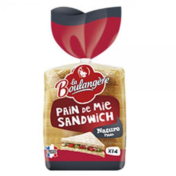 La Boulangere Pain De Mie Sandwich Nature 14 491144-V001 by La Boulangere