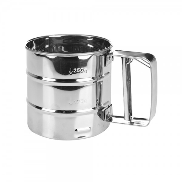 FLOUR SIFTER STAINLESS STEEL 491336-V001 by La Cucina