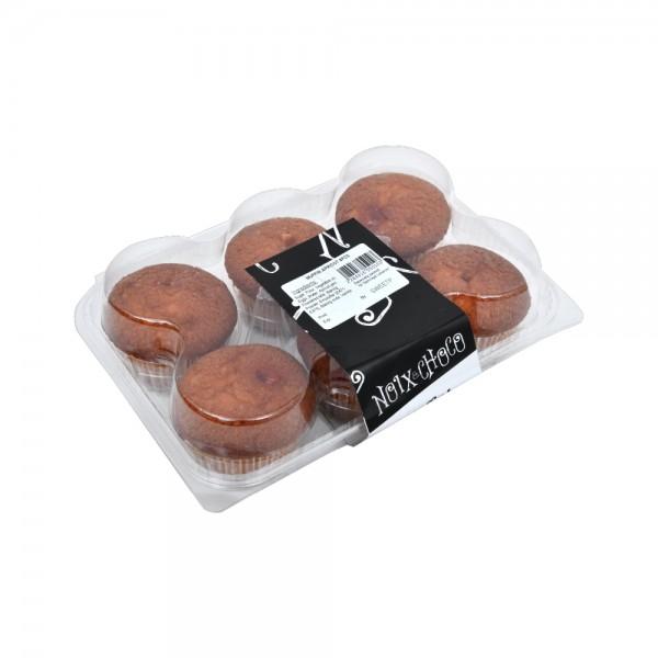 Noix Choco Muffin Abricot 6PC 491655-V001 by Noix & Choco